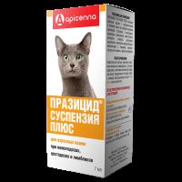 Антигельминтик для кошек Api San Плюс празицид суспензия