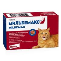 Антигельминтик для кошек Elanco Мильбемакс (4 8кг),
