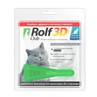 Капли ROLF CLUB 3D R425 для кошек
