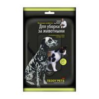 Салфетки для кошек и собак TEDDY PETS