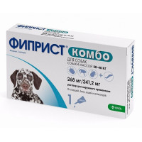 Препарат для собак KRKA Фиприст Комбо