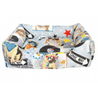 Лежак для собак Crazy Pets