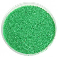 Грунт для аквариумов EVIS песок цветной салатовый,