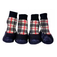 Носки для собак БАРБОСКИ для прогулки, клетка размер