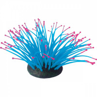 Декор для аквариумов JELLYFISH Коралл Актиния светящийся