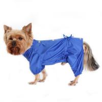 Дождевик для собак YORIKI цветной мальчик размер