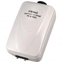 Компрессор PRIME двухканальный регулируемый, 10Вт, 2*6л/мин, глубина аквариума