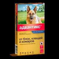 Капли для собак BAYER ADVANTIX от блох,