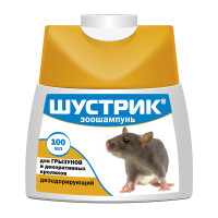 Шампунь для грызунов АВЗ Шустрик дезодорирующий