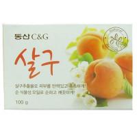 мыло туалетное с экстрактом абрикоса clio apricot soap