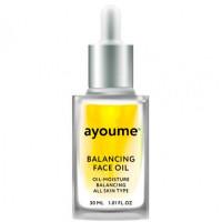 масло для лица восстанаваливающее ayoume balancing face