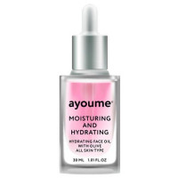 масло для лица увлажняющее ayoume moisturing & hydrating