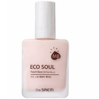 база под макияж the saem eco soul peach
