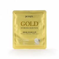 гидрогелевая маска для лица с золотом petitfee