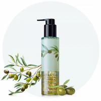 масло для очищения лица с экстрактом оливы