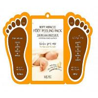 пилинг для ног  mijin soft miracle foot peeling