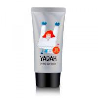 легкий солнцезащитный крем yadah oh my