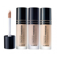 консилер  the saem cover perfection concealer foundation