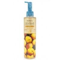 смягчающее увлажняющее масло для тела с абрикосом deoproce