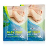маска для ног отшелушивающая eyenlip baby foot peeling