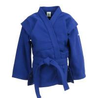 Детская Куртка Для Самбо Синяя 100
