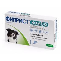 Фиприст Комбо (KRKA) антигельминтик для собак