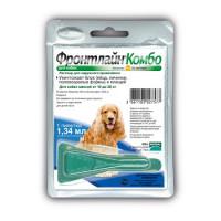 Капли Фронтлайн Комбо M для собак средних пород
