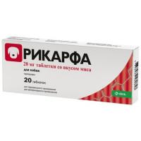 Рикарфа (KRKA) противовоспалительный препарат для собак