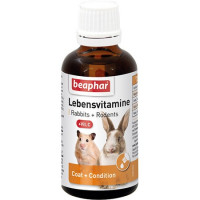 Витамины Beaphar Lebensvitamine для грызунов