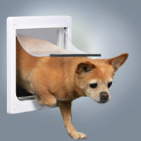 Дверца Trixie для кошек/собак с 2 функциями
