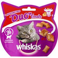 Лакомство Whiskas Duo с говядиной и сыром
