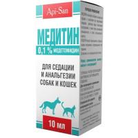 Api San Медитин (0,1%) раствор для седатации