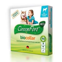 GreenFort NEO БиоОшейник для крупных собак от клещей,