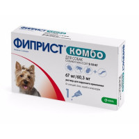Фиприст Комбо (KRKA) для собак 2