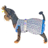 Happy Puppy платье Фиалка для собак, размер L