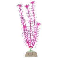 Glofish растение для аквариума пластиковое флуоресцентное розовое
