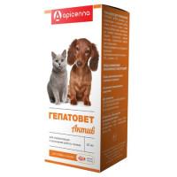 Apicenna Гепатовет суспензия для лечения заболеваний печени