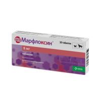 Марфлоксин (KRKA) противобактериальное средство для кошек