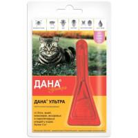 Apicenna Дана Ультра капли против эктопаразитов для кошек