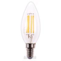 Лампа светодиодная, (7W) 230V E14 4000K,