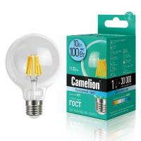 Лампа светодиодная FIL E27 10W большой