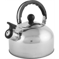 Чайник со свистком Casual, 2 л, нержавеющая