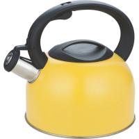 Чайник со свистком Calve, 2 л, нержавеющая сталь,