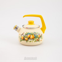 Чайник со свистком Metrot Айва, 2,5л., эмаль,