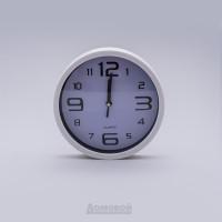 Часы настенные Круг, d20см, пластик