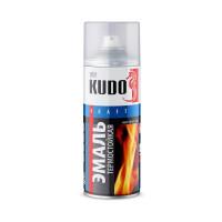 Эмаль специальная термостойкая 600°С аэрозольная KUDO черная