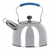 Чайник Regent 3,0л со свистком, нержавеющая сталь
