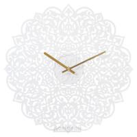 Часы металлические HOME DECOR, белое кружево