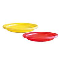Набор тарелок одноразовых пластиковый ANTELLA, 21см,