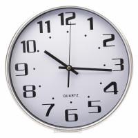 Часы настенные Круг, d30см, пластик